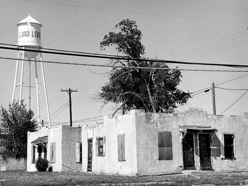 Small-town buurt stock fotografie
