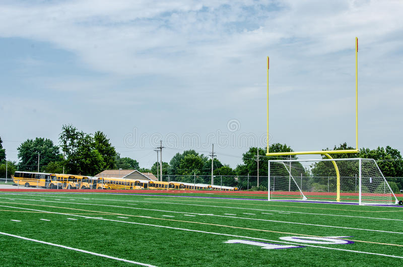 Small Town Football Field Stock Photo - Image: 47814234