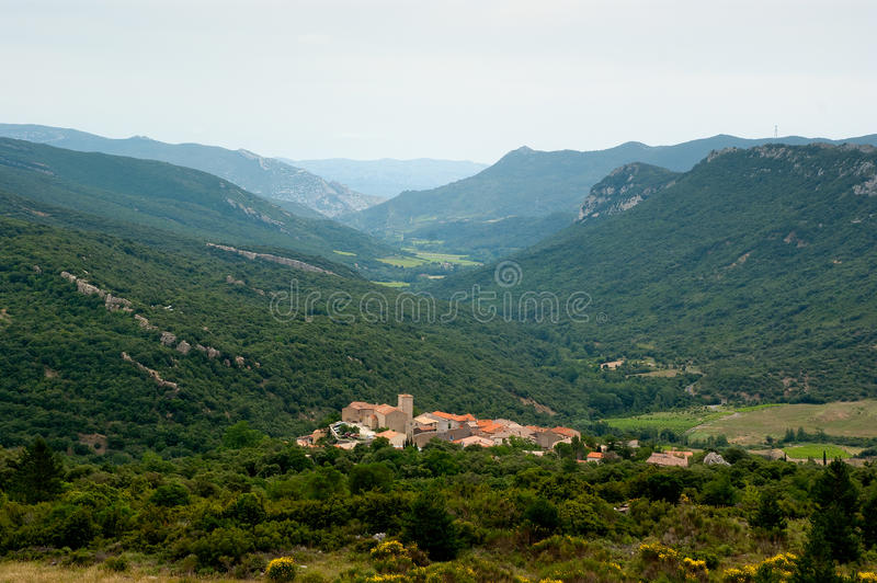 Download Small Town In The French Pyrenees Stock Photo - Image: 20041760