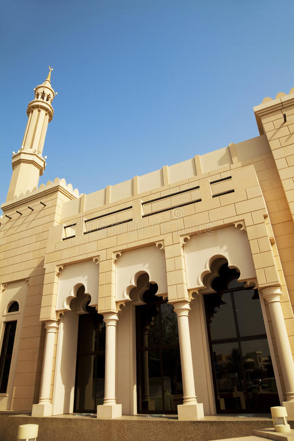 Download Small Town Mosque At Dubai, UAE Stock Image - Image: 14580809