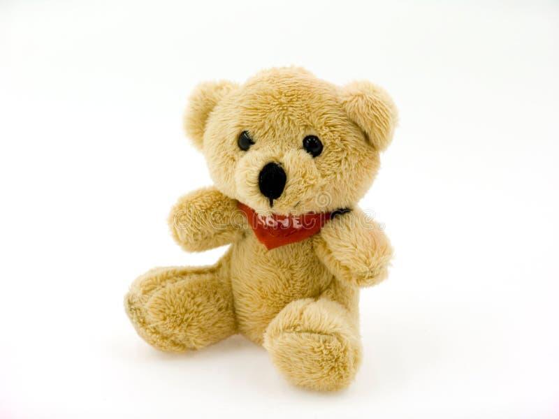 Small toy bear royalty free stock photos