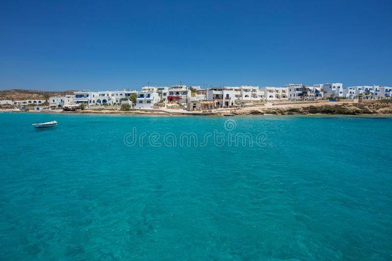 Small traditional village, Naxos, Greece royalty free stock images