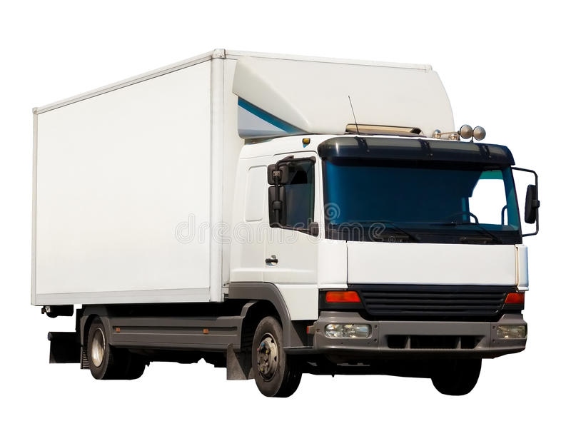 Download Small truck stock image. Image of single, copyspace, drive - 15647927