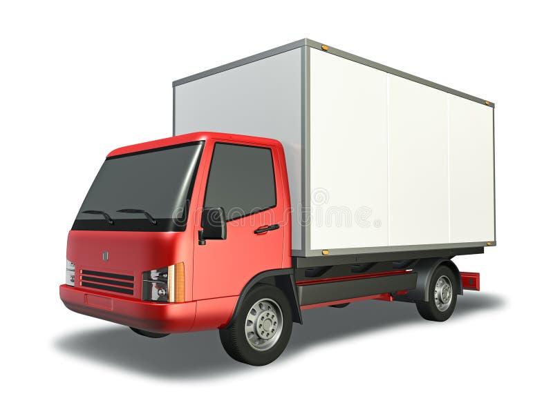 Small Truck stock illustration