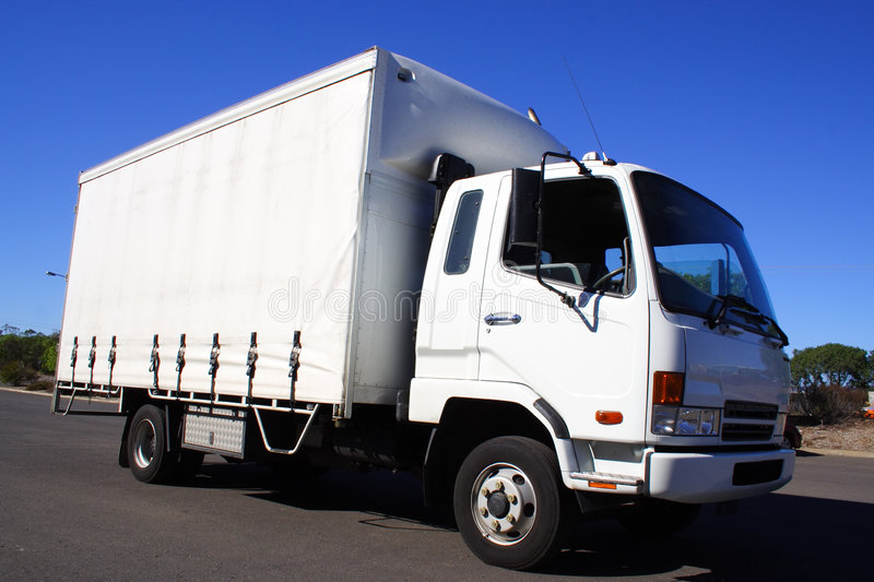 Small truck royalty free stock images