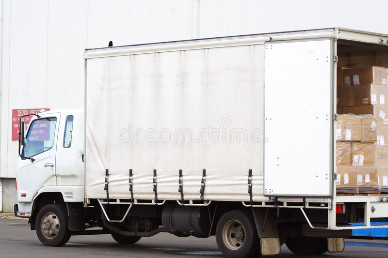 Small truck royalty free stock image