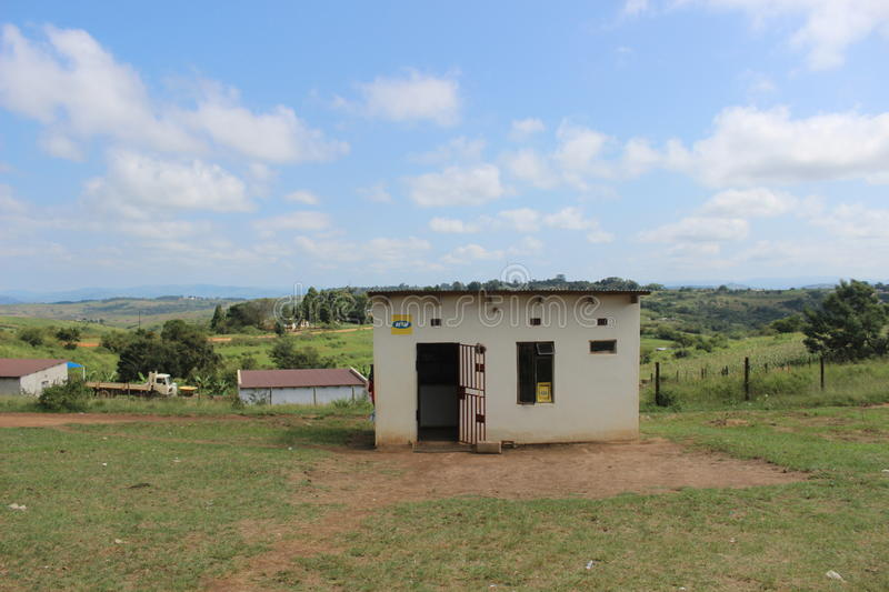 A small tuck-shop in rural Swaziland, southern Africa royalty free stock photo