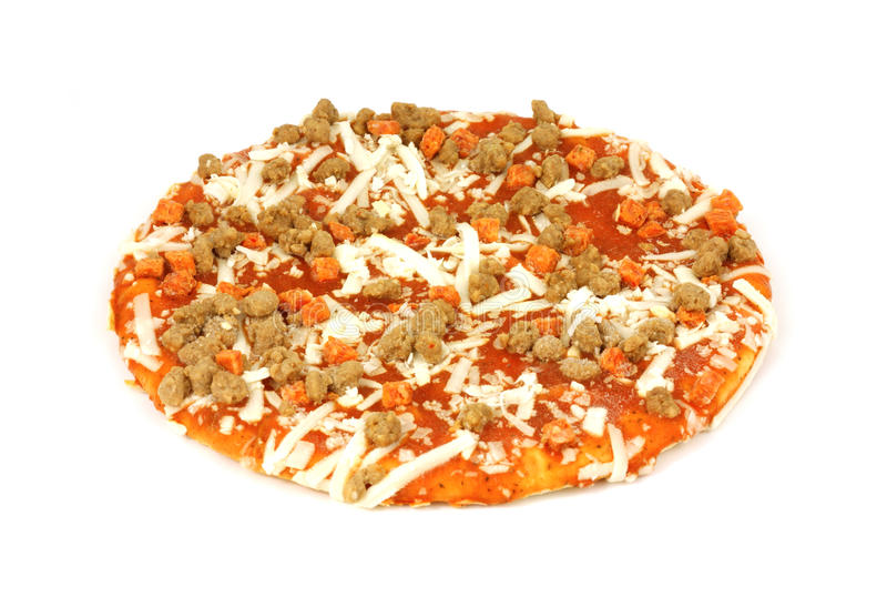 Download Small Uncooked Pizza Stock Image - Image: 10491511