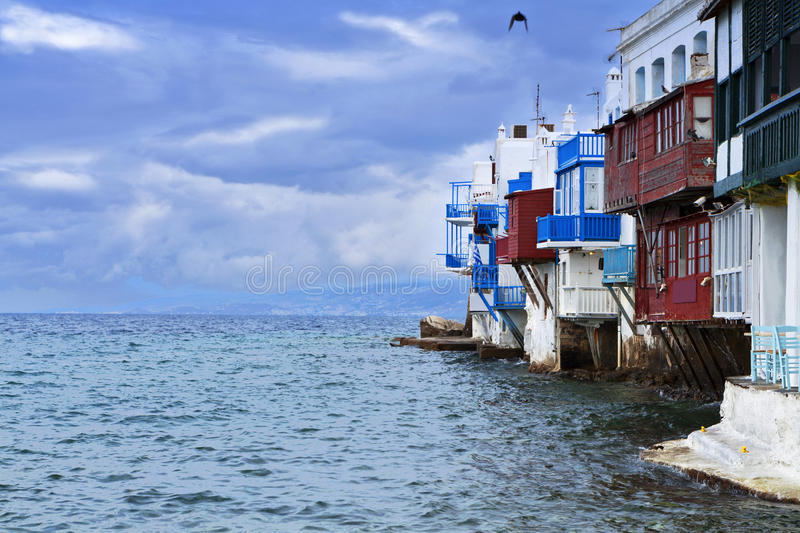 Download The Small Venice Of Mykonos Island Stock Photo - Image: 31670084