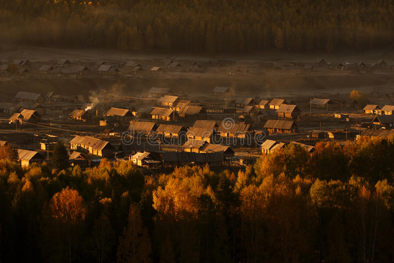 Small Village Stock Image
