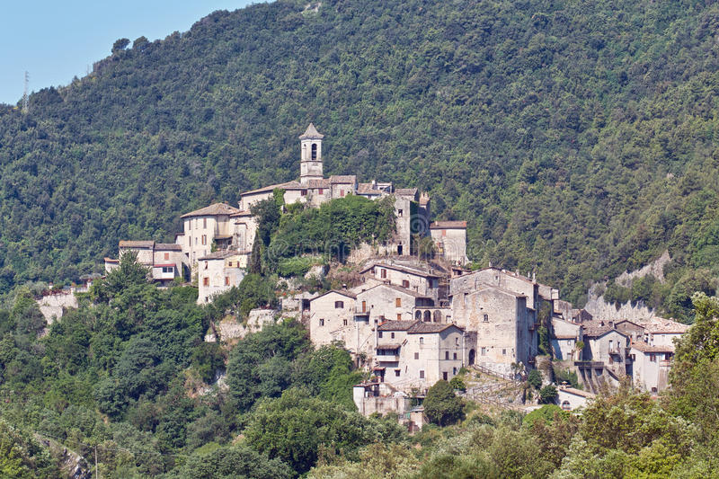Download The Small Village Of Rocchette Stock Photo - Image: 19693474