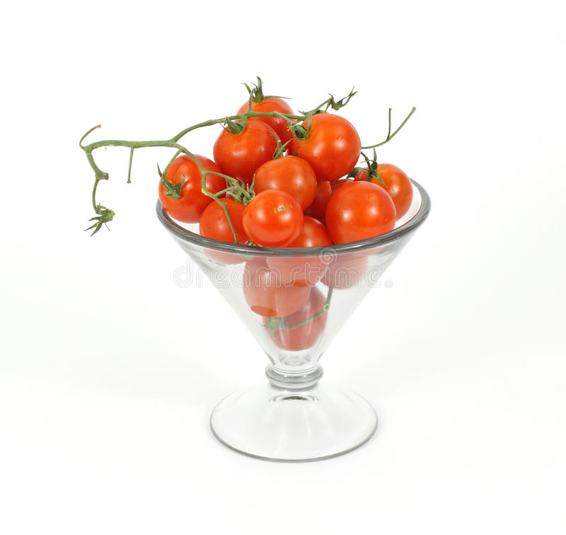 Download Small vine tomatoes stock photo. Image of ornate, vine - 15201086