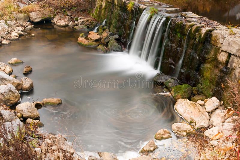Download Small waterfall stock image. Image of beauty, mountain - 24097509