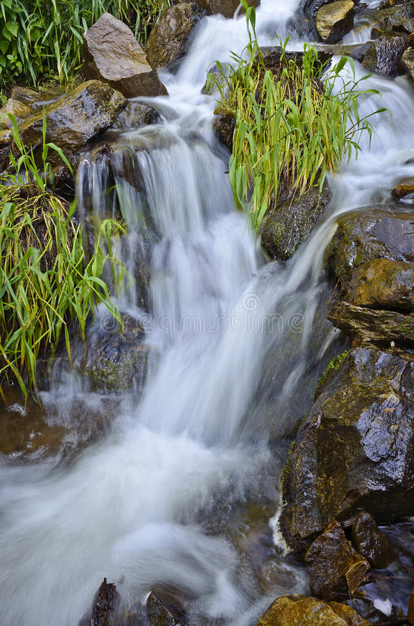 Download Small Waterfall Royalty Free Stock Photo - Image: 25127685