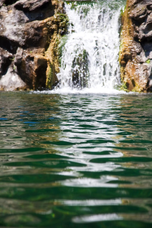 Free Small Waterfall Royalty Free Stock Image - 9867016