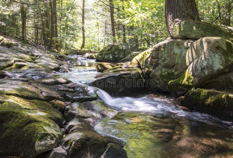 Seven Tubs Waterfall Stream stock photos
