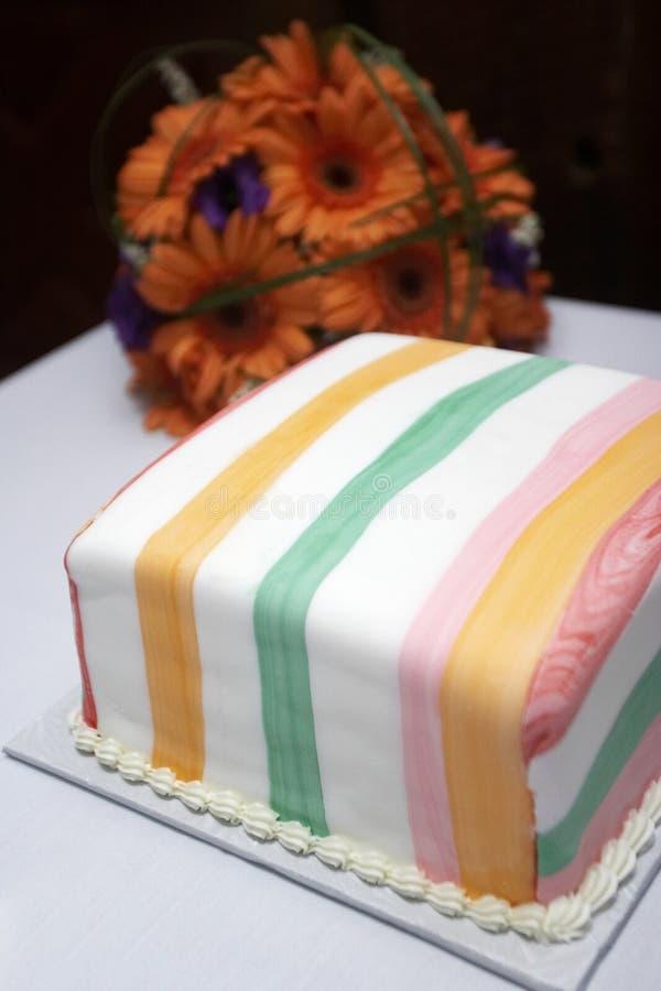 Small wedding cake stock photography
