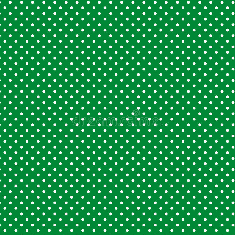 green with gold dot cotton stock