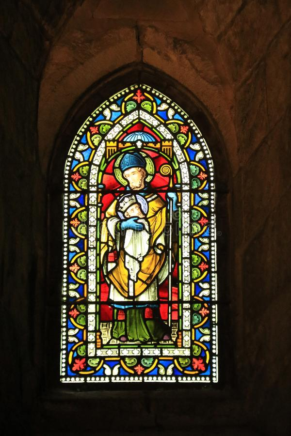 St Cuthberts Window, Bolton Abbey stock photo