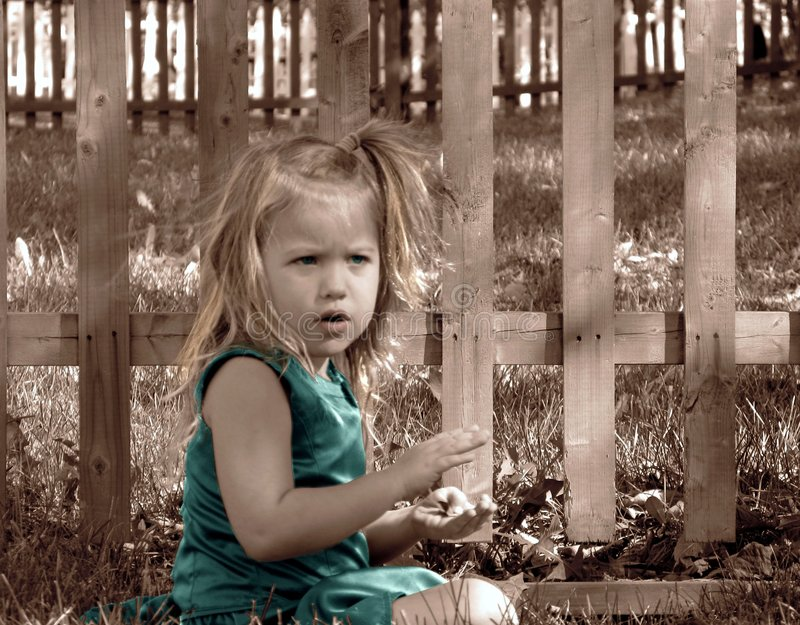 Download Small Wonders stock image. Image of color, backyard, children - 5241825
