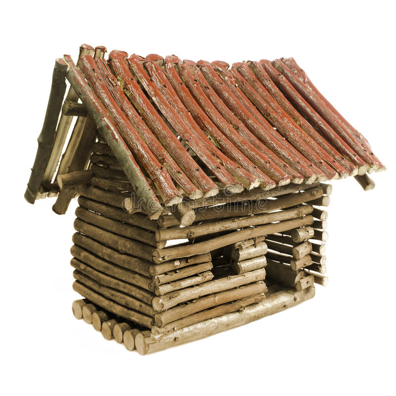 Download Small wooden house stock illustration. Illustration of beautiful - 25081381