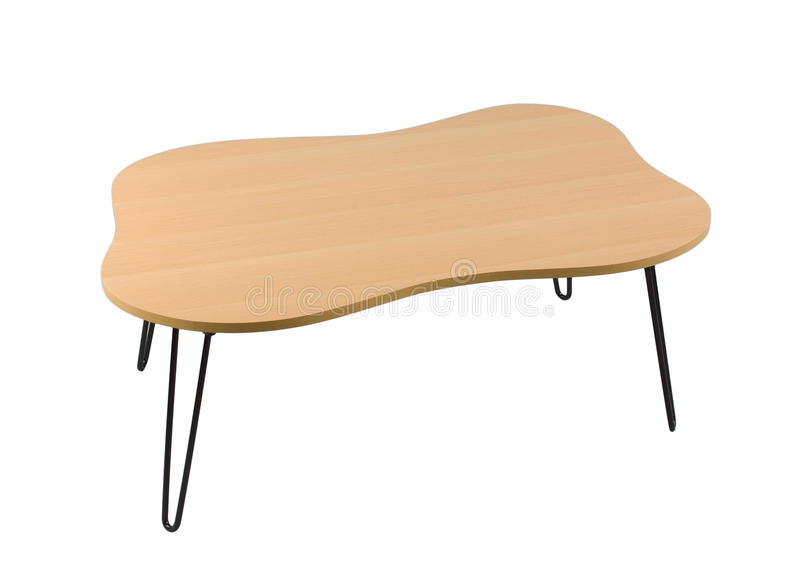 Download Small wooden table stock image. Image of simple, desk - 25557417
