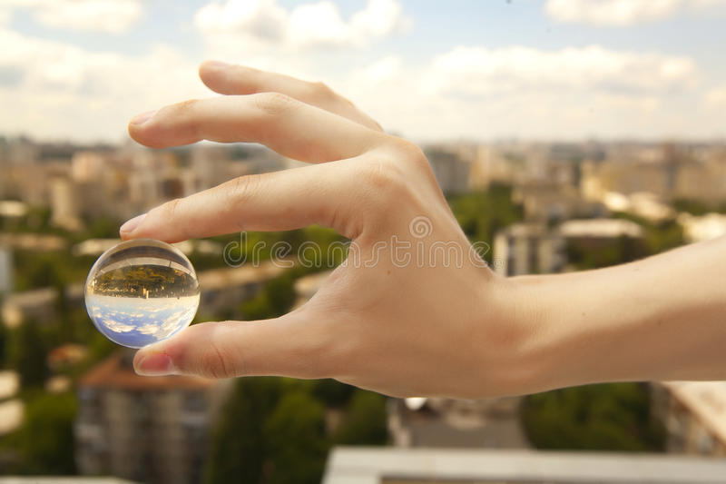 Download Small world stock image. Image of ball, care, background - 10240215