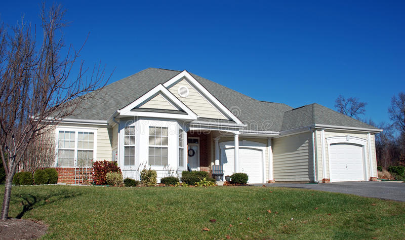 Download Smaller Home In Retirement 1 Stock Photo - Image: 12089112