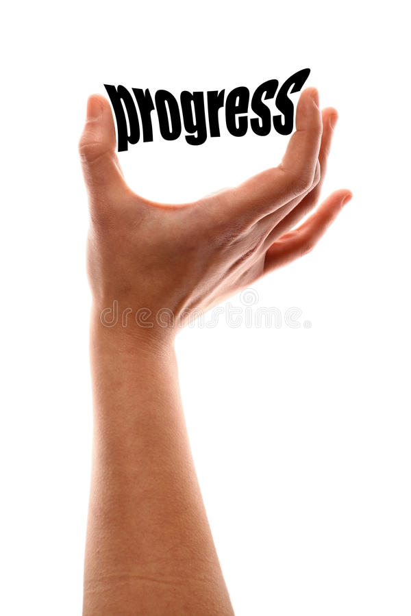 Smaller progress royalty free stock images
