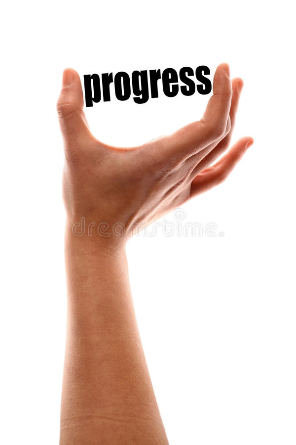 Smaller progress stock images
