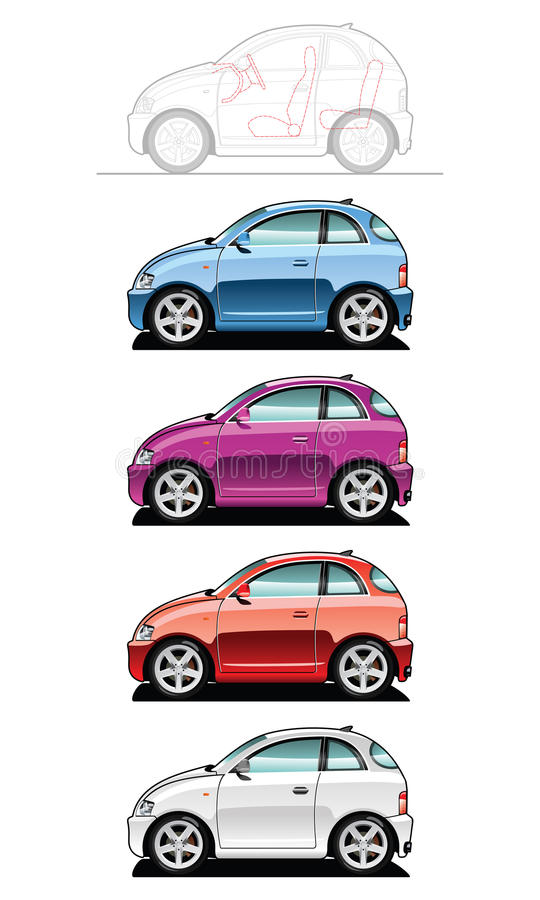 Smallest Car Royalty Free Stock Images