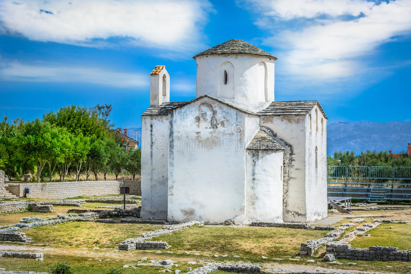 Smallest cathedral in Croatia. royalty free stock image