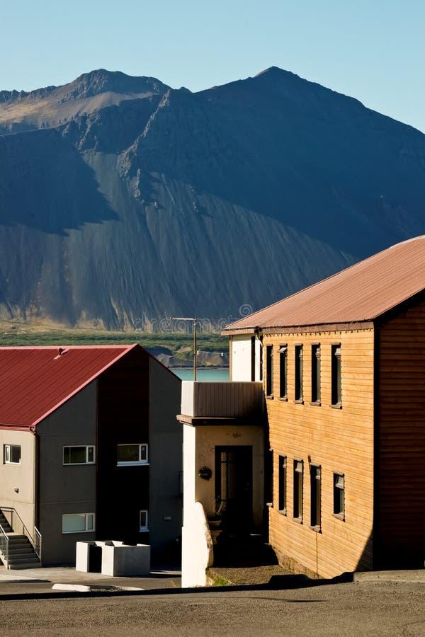 Smalltown Ansicht lizenzfreies stockbild