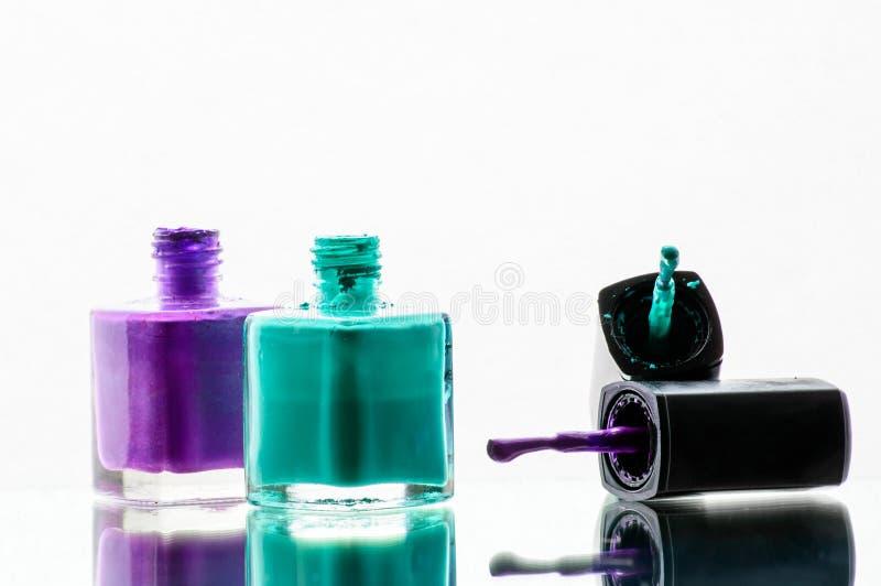 Smalto, Cutex fotografia stock libera da diritti