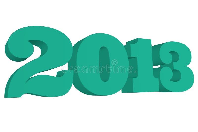 Smaragd 2013 stock abbildung