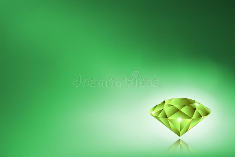 Smaragd lizenzfreie abbildung