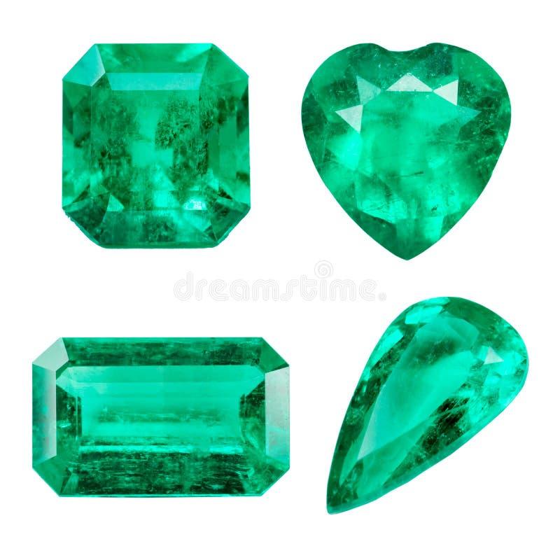 Smaragd royalty-vrije stock afbeelding