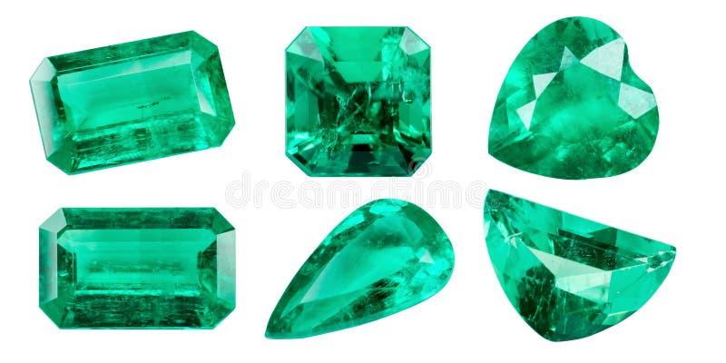 smaragd royalty-vrije stock foto's