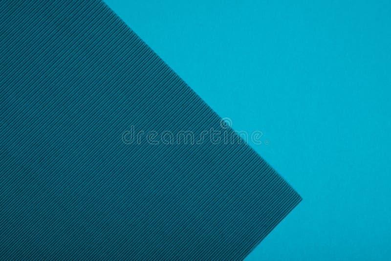 Smaragd- und blaugrüner Farbhintergrund des strukturierten geometrischen Papiers der Zusammenfassung vektor abbildung
