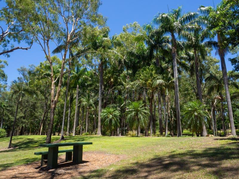 Smaragdbotaniska trädgården, Queensland, Australien royaltyfria bilder