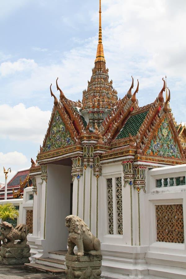 Smaragdbuddha-Tempel lizenzfreie stockfotos