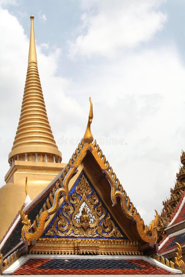 Smaragdbuddha-Tempel stockbild