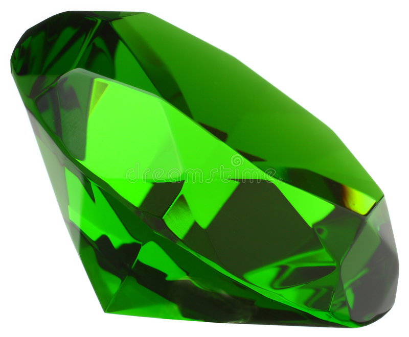 smaragdgemstone arkivbild