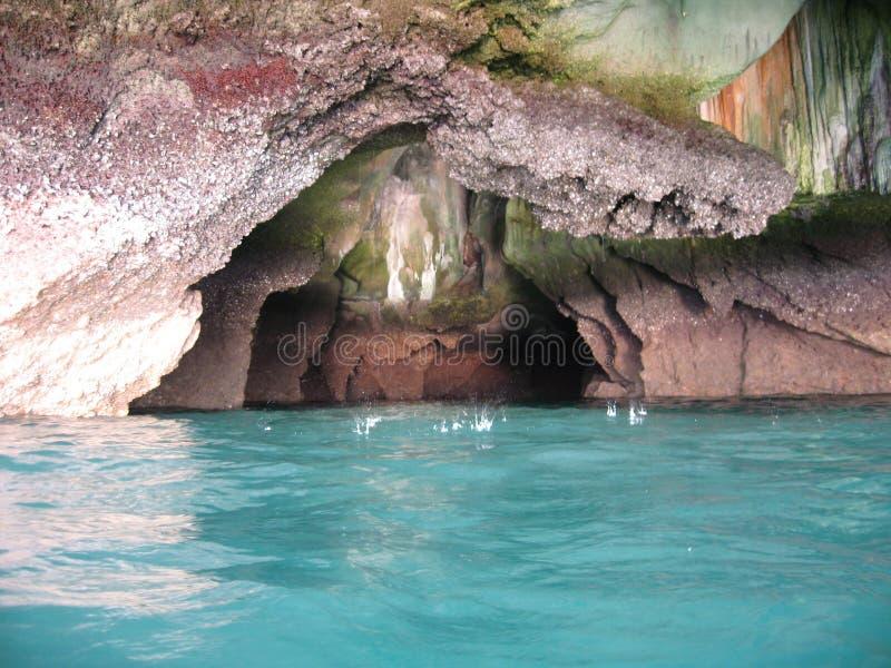 Smaragdhöhle Trang Thailand stockfotografie