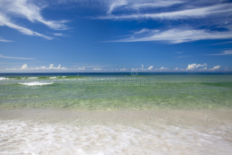 Smaragdküste lizenzfreie stockbilder