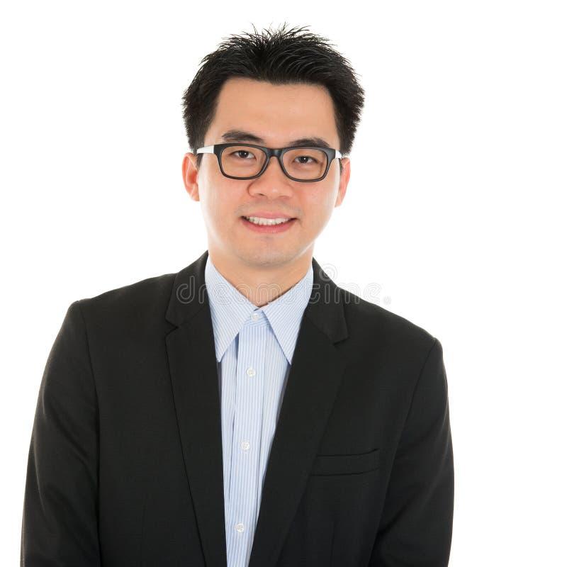Smart Asian business man royalty free stock photos
