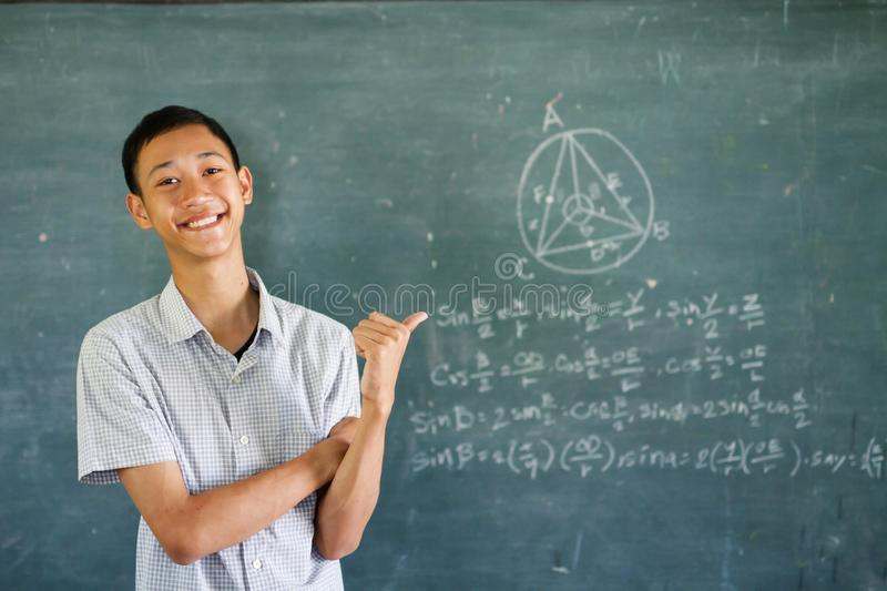 Abroad educational and Global learning concept. stock image