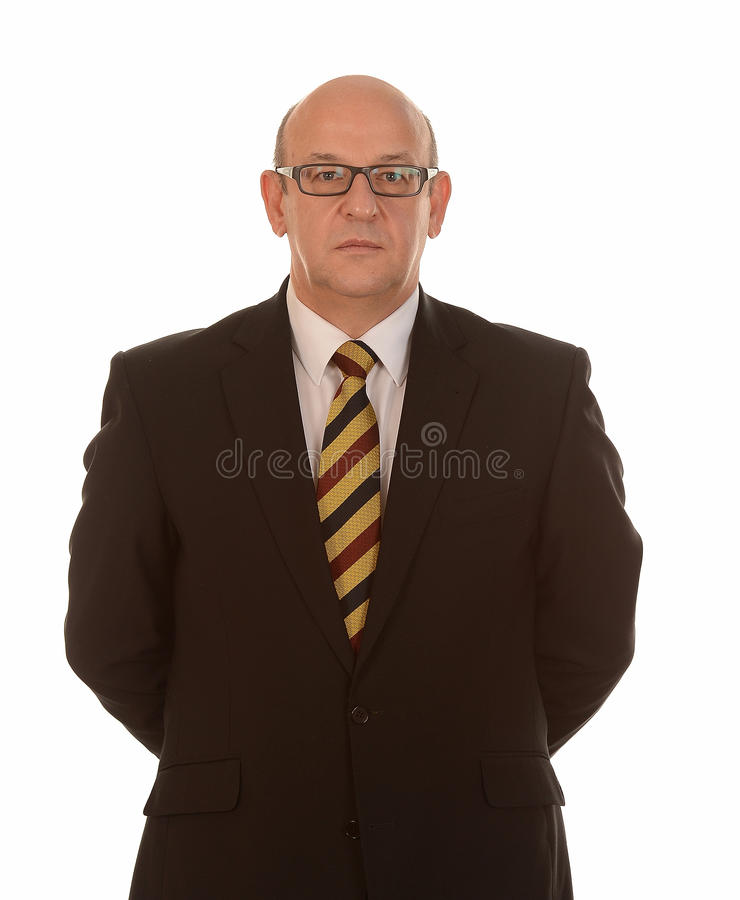 Download Smart Businessman With Glasses Stock Photo - Image: 28067904