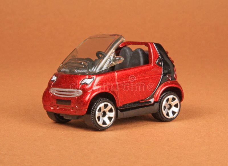 Smart Cabrio. Matchbox 2008 #29, M5294, 3 diecast toy with opening doors royalty free stock images