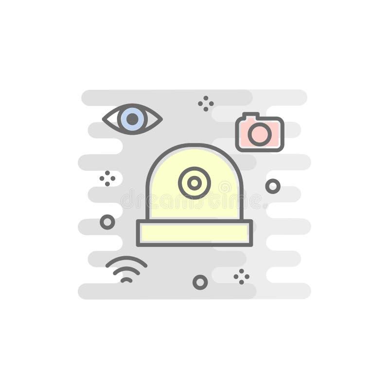 Security Digital Tv Camera Stock Illustration